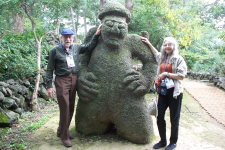 Rchard and Doris with Friend-Jeju Island 2012